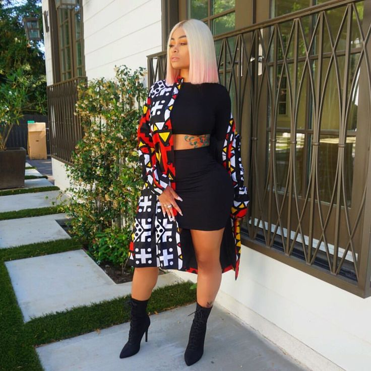 """89.1k Likes, 436 Comments - Blac Chyna (@blacchyna) on Instagram: """"In love with my @dashikipride jacket. They always have me looking fly!"""""""