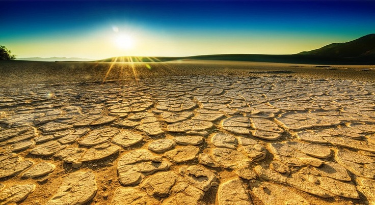 Cracked Ground desert | if you happen to live your life as mud.I saw these kinds of cracked ...
