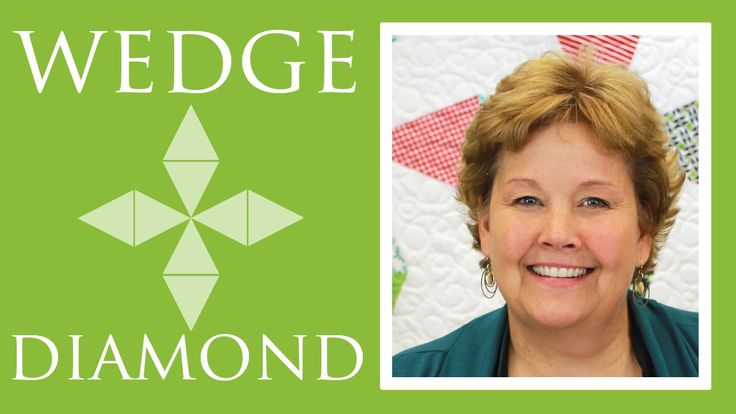 Wedge Diamond Quilt: Easy Quilting Tutorial with Jenny Doan of Missouri ...