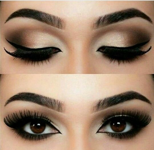 how to make smokey eyes with liquid eyeliner