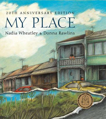 My Place by Nadia Wheatley, illustrated by Donna Rawlins, the 20th birthday edition. A delightful children's classic, My Place depicts the history of one particular piece of land in Sydney from 1788 to 1988 through the stories of the various children who have lived there. From the collection of the State Library of New South Wales: http://library.sl.nsw.gov.au/record=b2653048~S2