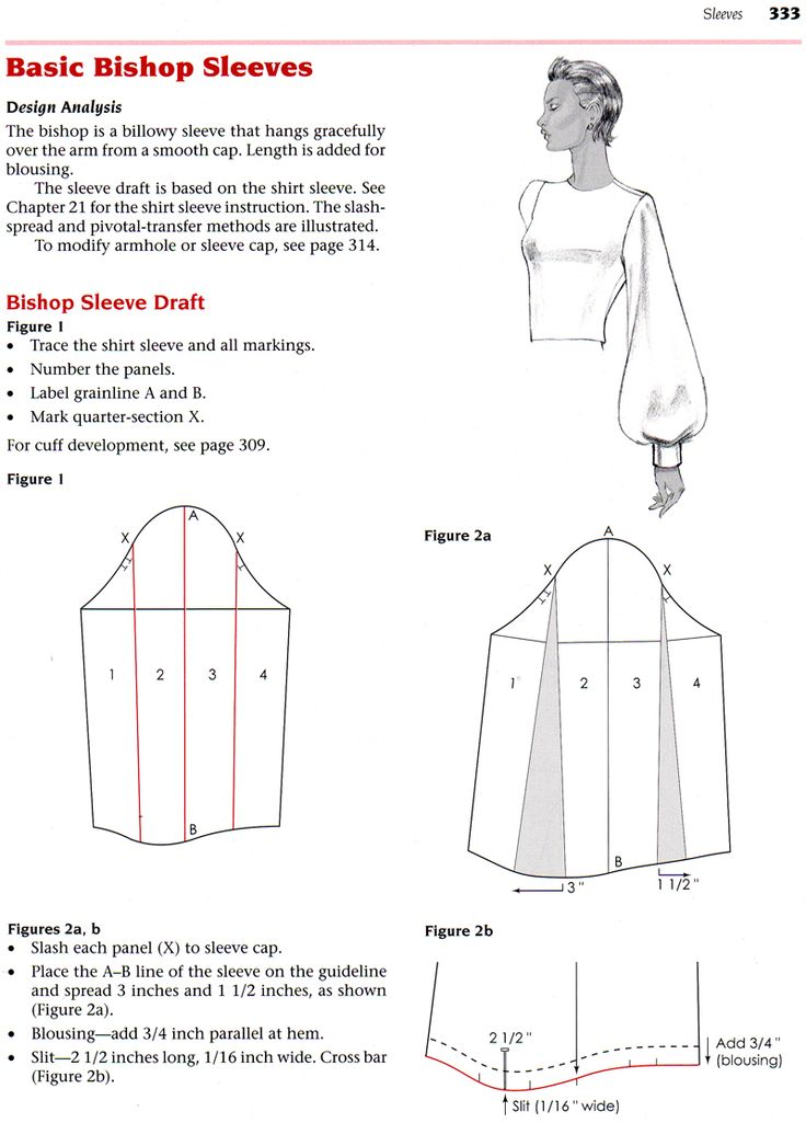 Bishop sleeves