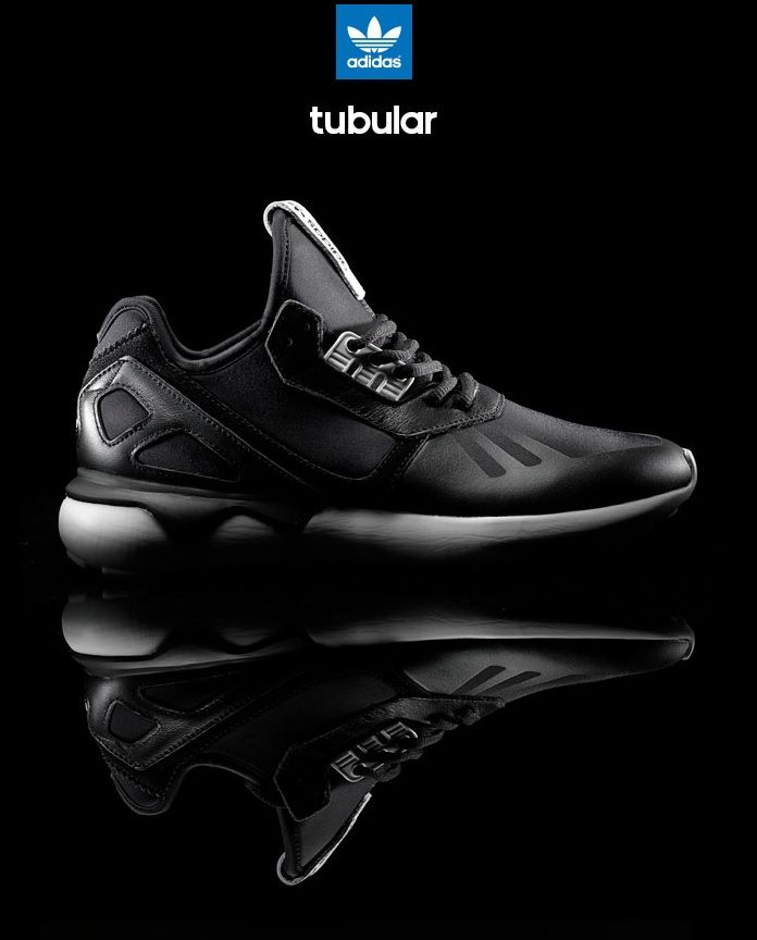 adidas Originals Tubular Runner: Black