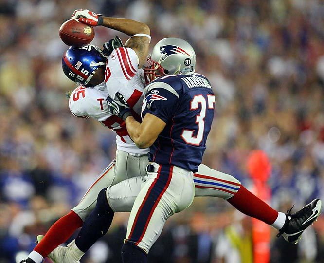 David Tyree's helmet catch helps beat undefeated Patriots - 76 Great Moments in Sports - Photos - SI.com