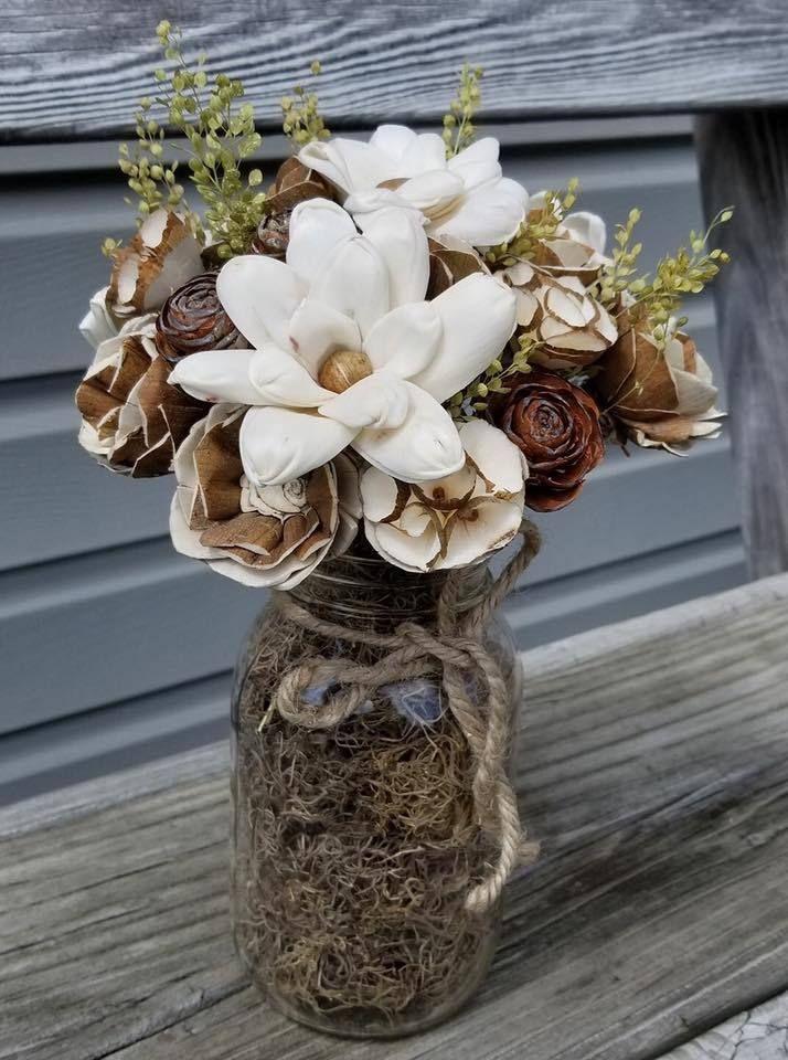 Turtle Flower Sola Wood Wood Flowers Sola Wood Flowers Mason Jar Flowers
