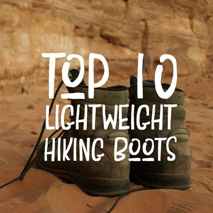 Top 10 Best Lightweight Hiking Boots
