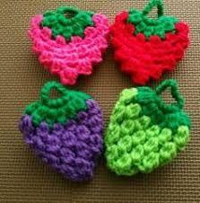 「イチゴのエコたわし編み方」の画像検索結果