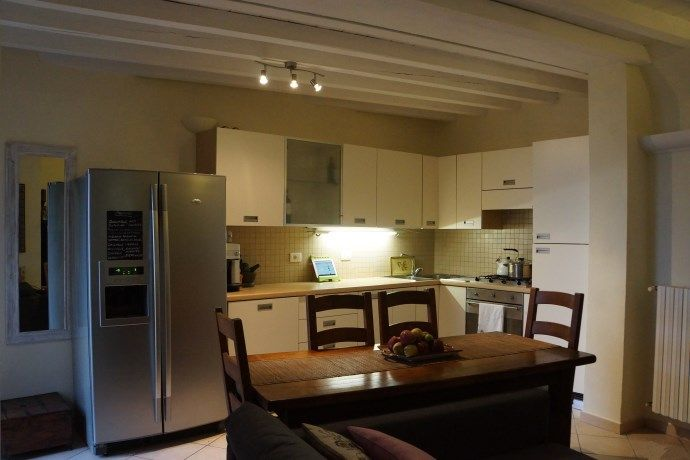 Internal photos added for this #LakeGarda apartment for sale near Salo, Italy - Il Palazzo