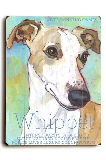 Whippet by Pet Art Shop on @HauteLook