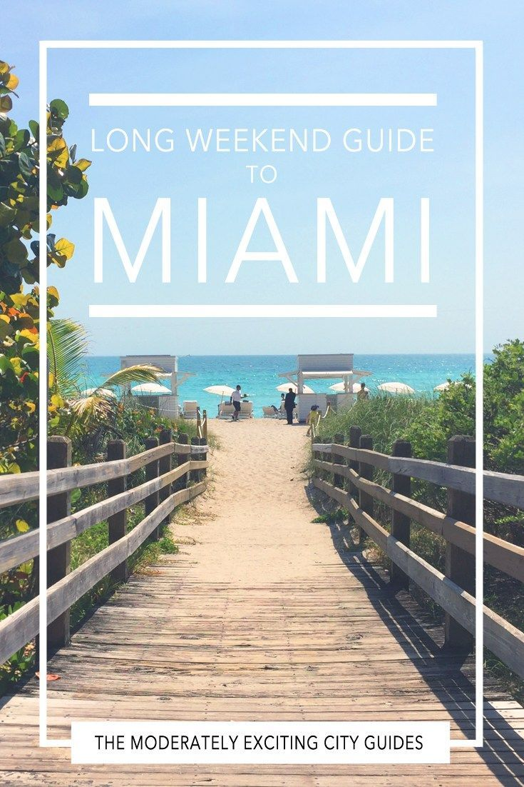 The moderately exciting city guide to Miami Beach - what to see, where to eat (plus all the best places for street tacos) and where to go out in Miami, Florida!