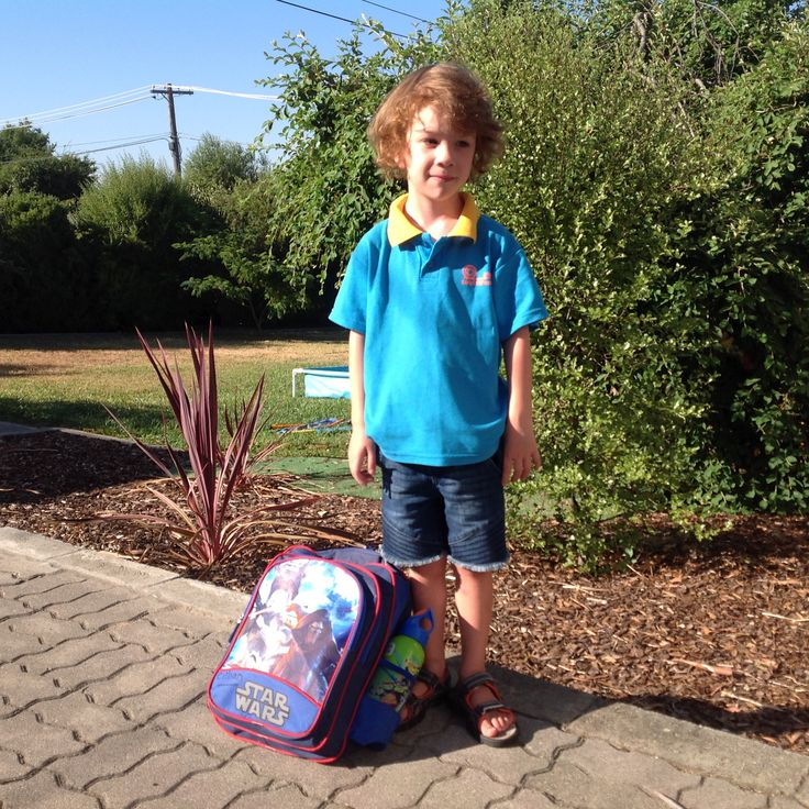 1st day of kindergarten- 30th January 2017