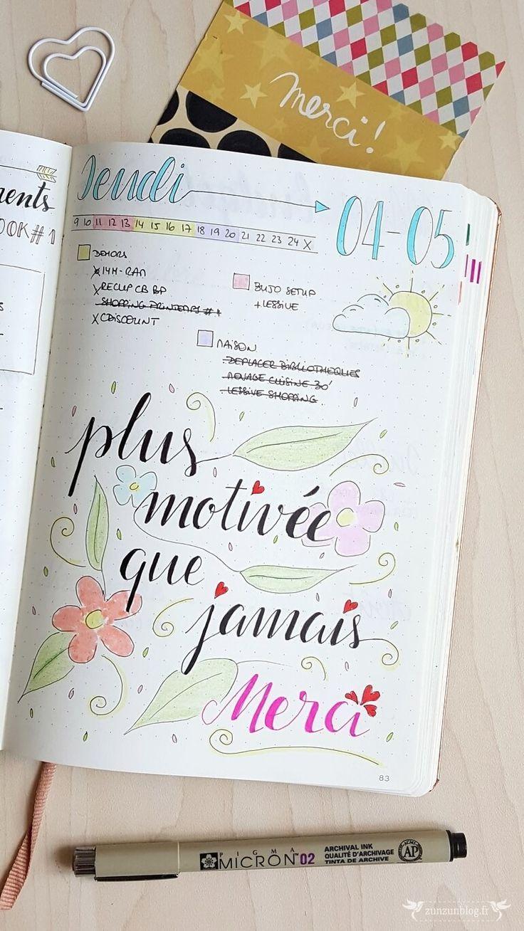 bullet journal daily log lettering | All | Bullet journal