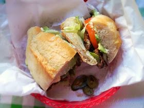 Mexican Breaded Steak Sandwich (Torta de Milanesa) - lacocinadeleslie.com