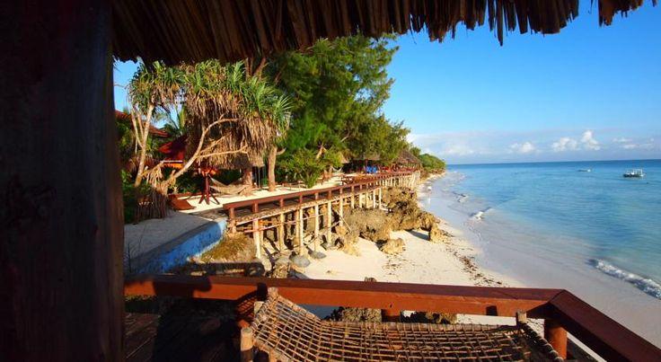 View from upper beach #BeachResort #Indian Ocean #Sunbeds #Massage #Sailing #Nature #Couples #Nungwi # Zanzibar