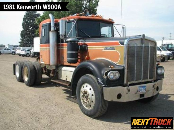 #ThrowbackThursday Check out this 1981 #Kenworth W900A Day Cab! View more Kenworth #Trucks at http://www.nexttruckonline.com/trucks-for-sale/by-make/Kenworth #Trucking #NextTruck #SemiTrucks