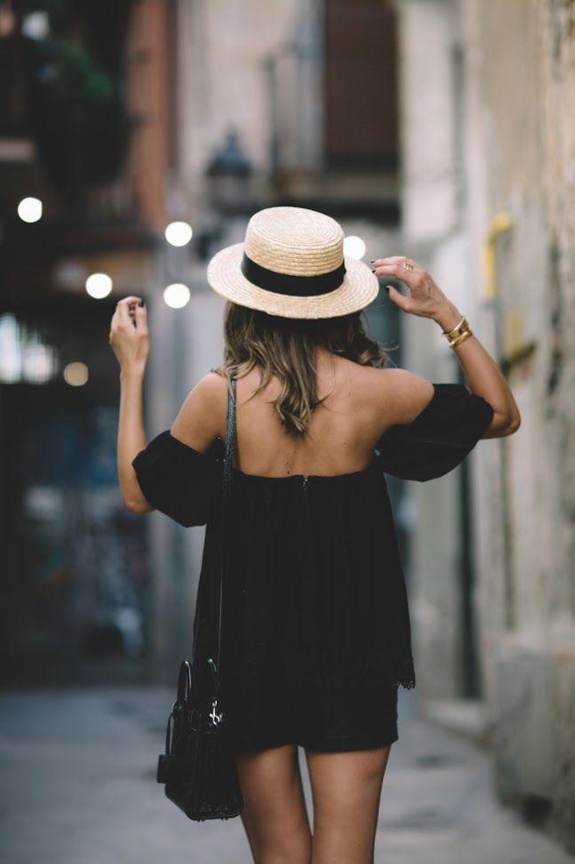 Sombreros Rafia Bloggers Canotier Tendencia Verano 2016 4