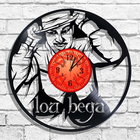 Lou Bega design wall clock Lou Bega wall poster