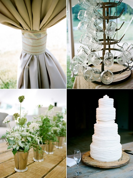 love the stand of mason jars, maybe for a signature drink at the post ceremony cocktail bar?