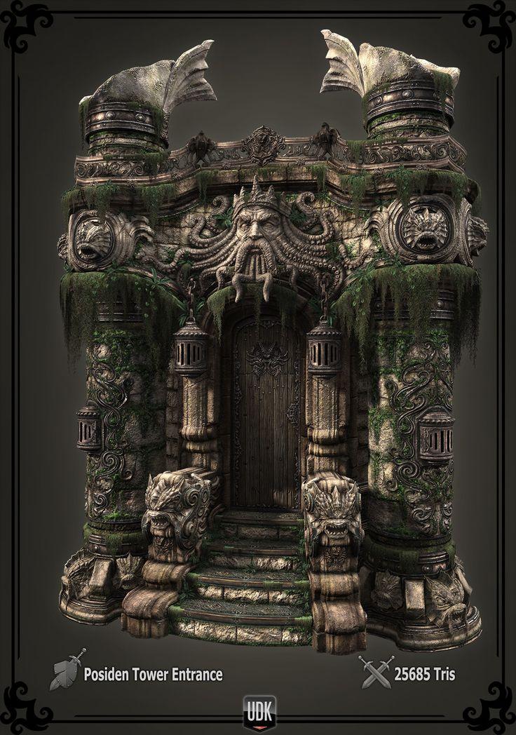 The Art of Brian Trochim – Environment Artist -
