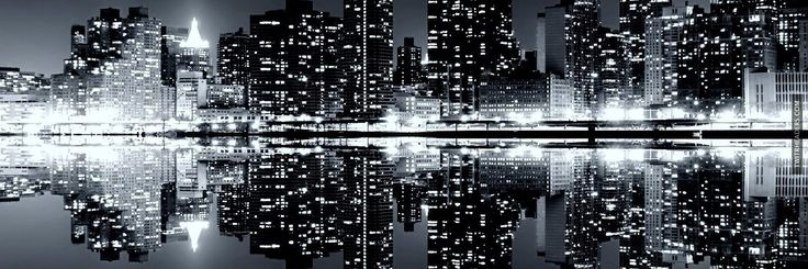 New York Skyline Twitter Header Cover - TwitrHeaders.com