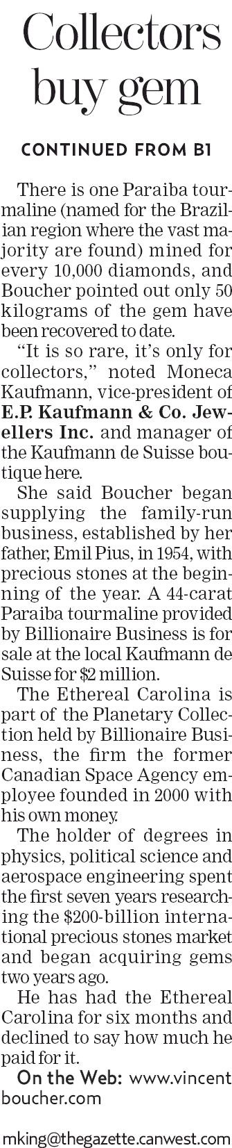 "GUINNESS WORLD RECORDS™ — ""It's a gem of a start for Billionaire"". 