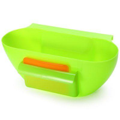 Kitchen Trash Can Waste Container Storage Box Desktop Junk Boxes