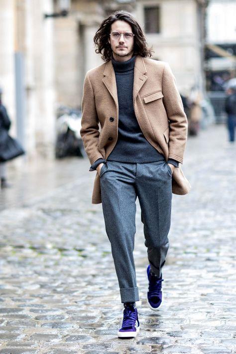 48f2f30d8cff The Best Street Style From Paris Fashion Week  MensFashionCoat Módne Štýly