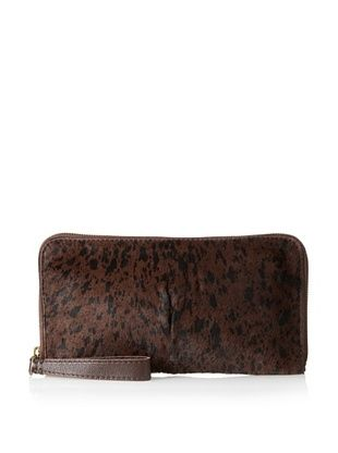 69% OFF 49 Square Miles Women's Bestie Haircalf Clutch, Spot