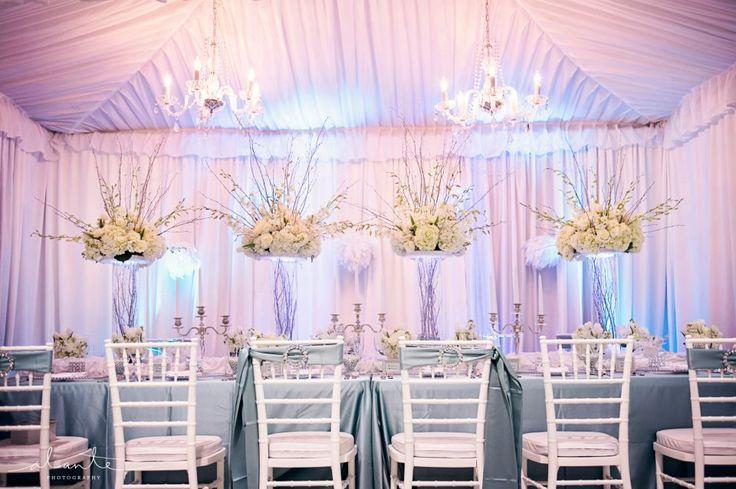 Nile Blue & White designs/rentals from http://www.grandeventrentalswa.com/