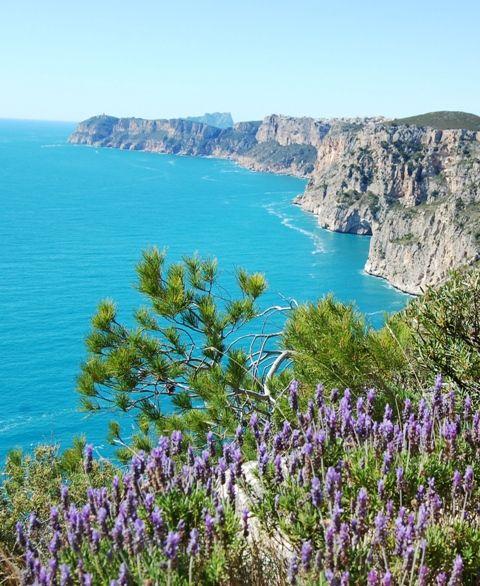 Vistas desde el PR-CV- 354 - Granadella #xabia #javea #costablanca #paisaje #turismo #naturaleza www.xabia.org