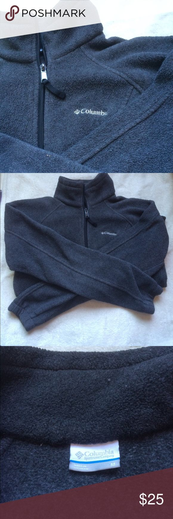 Gray Colombia Jacket Gray fleece jacket, has a full zipper. Looks brand new and in great condition! Colombia Jackets & Coats