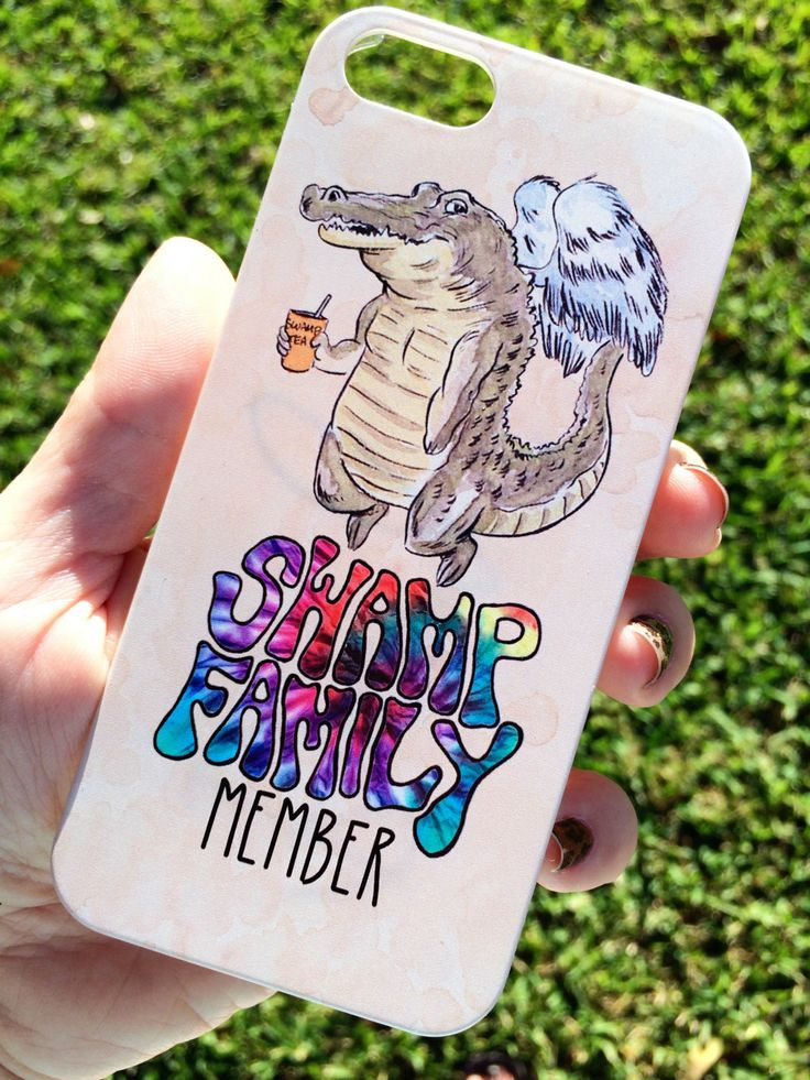 IPHONE 5/5S swamp family phone case by enmortem on Etsy, $24.00