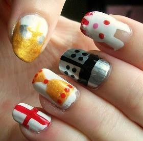 Monty Python inspires nails