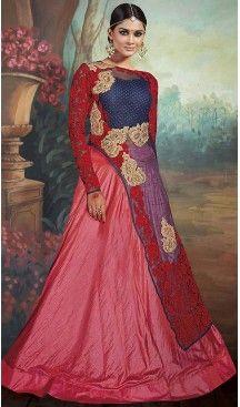 Navy Blue Color Net Achkan Pakistani Style Dresses | FH493175650 #indian , #salwar , #kameez , #dresses , #suits , #women , #ledies , #designer , #clothing , #boutique , #online , #shopping , #anarkali , #churidar , #palazo , @heenastyle