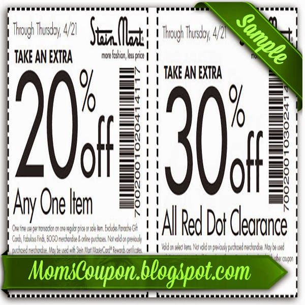 Stein mart coupons 2019