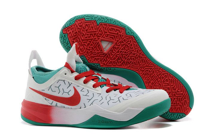 save off 18511 13cc2 Nike Zoom Crusader James Hardens Christmas PEs White Grinch Red