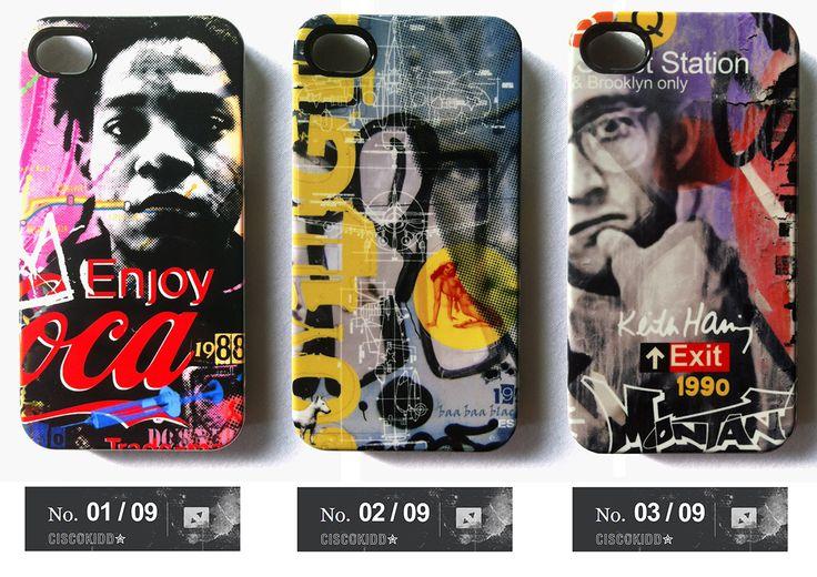 série trés limitée 9 coques iphone4 uniques signées