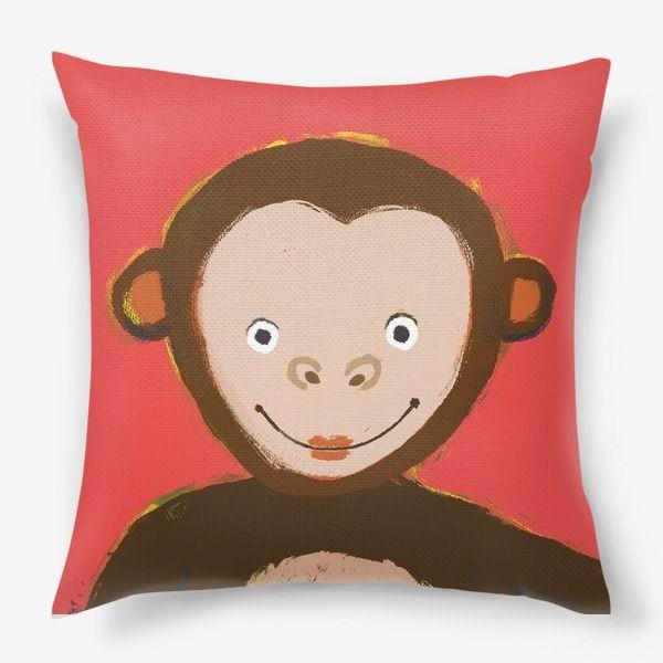 Подушка обезьянка картинка
