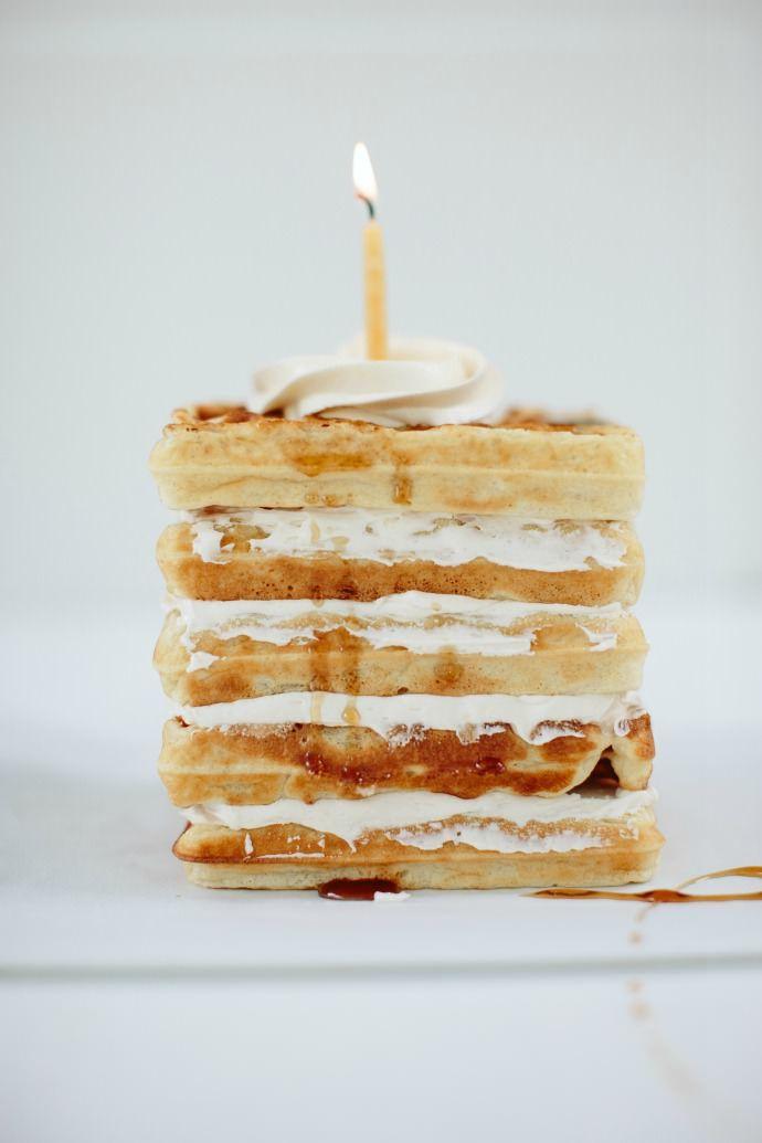 Waffle Cake with Maple Buttercream   Handmade Charlotte   Bloglovin'