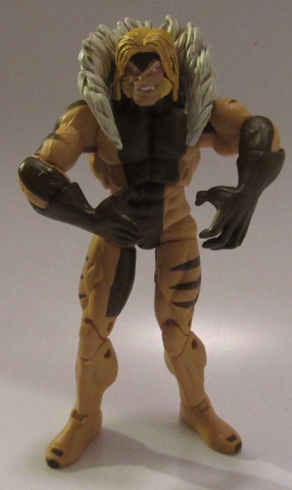 Marvel (X-MEN ORIGINS): SABRETOOTH Loose 3.75 Inch Action Figure-WOLVERINE 2009 #Hasbro
