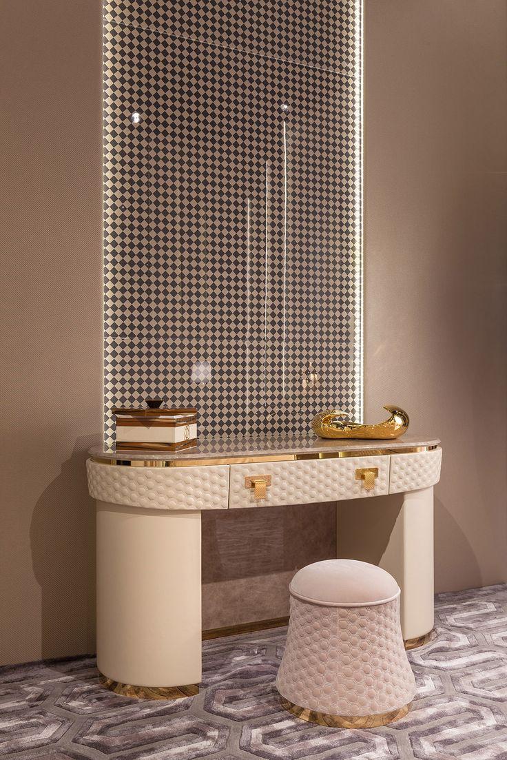Vogue Bedroom www.turri.it Italian luxury dressing table