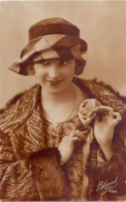 Zelda Fitzgerald, wife of F. Scott Fitzgerald.  They were quite the pair in the 20's.  The newspapers could always find a story to publish about their antics about town.