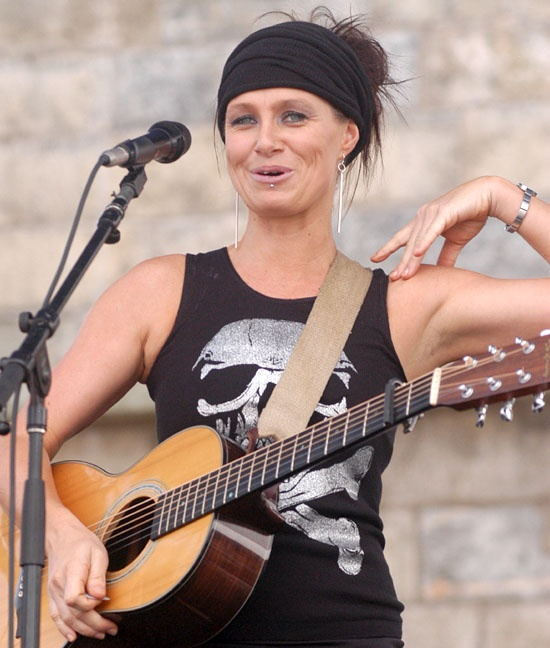 Australian singer-songwriter Kasey Chambers. If Everton FC was a country song it would sound like one of hers.