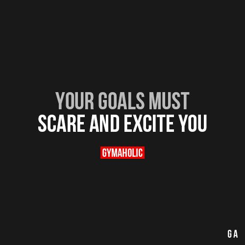 You Goals Must