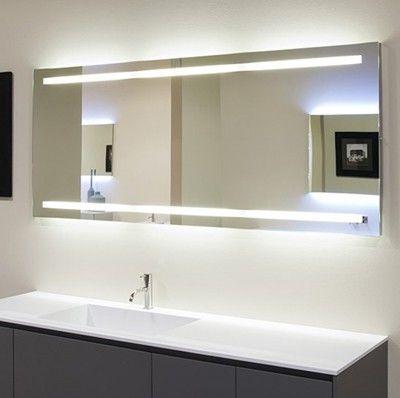 badspiegel mit beleuchtung spiegel t rtapete pinterest. Black Bedroom Furniture Sets. Home Design Ideas