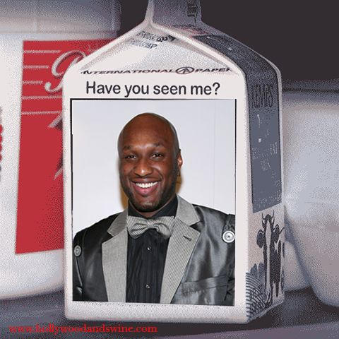 Where's Lamar Odom? Has been Named New Face of 'Got Milk?' Ad Campaign #lamarodom, #khloekardashian, #laclippers