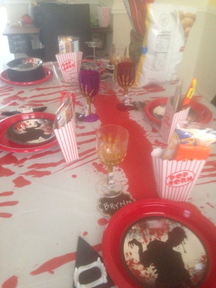 image Horror theme party with naughty college girls scene 3