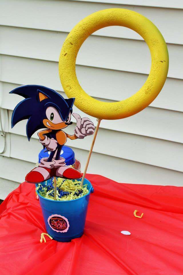 Sonic Birthday Party  | CatchMyParty.com