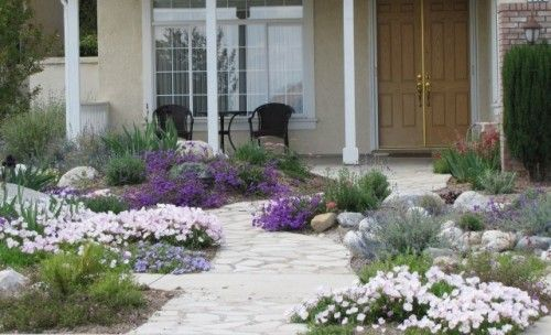Water-Wise Front Yard - landscape - other metros - Jean Marsh Garden Design