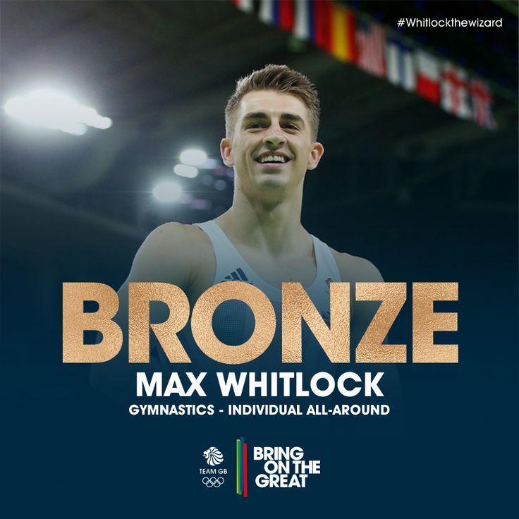 team gb live....BRONZE for Max Whitlock men's all round gymnastics